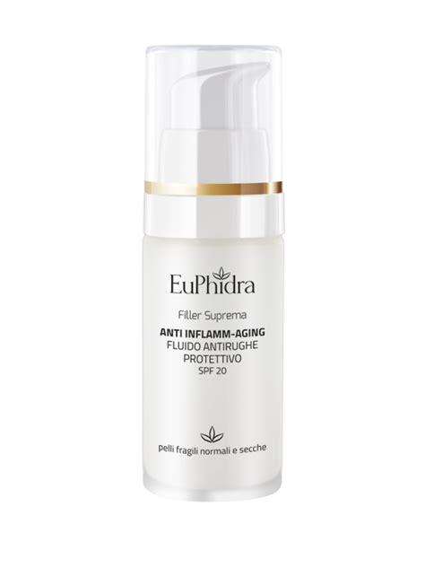 euphidra filler suprema crema antirughe euphidra make up e cosmetici made in italy