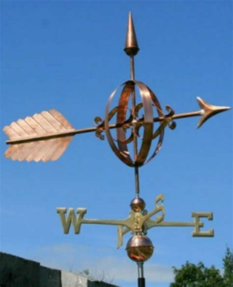 Weathervanes And Cupolas Usa by Large Copper Quot Fancy Arrow Quot Weathervane Made In Usa 124
