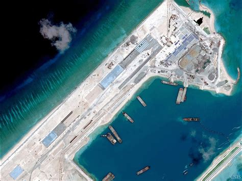 artificial islands  south china sea  complete