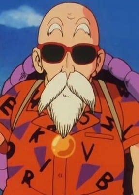 master roshi anime planet