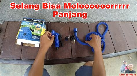 unboxing dan review selang air magic hose