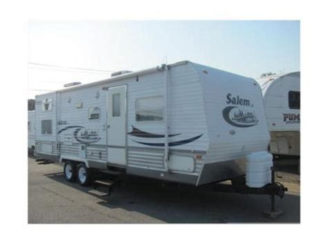 Rv Slide Out Awnings For Sale by Salem By Forest River 2007 Le Series M 27bhss 27 Ft With