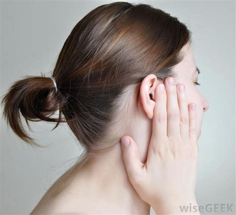 women hair by ears what causes tingling ears with pictures
