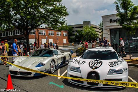 maserati super sport maserati mc12 and bugatti veyron super sport spotted in