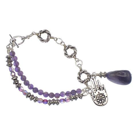 tibetan style tibetan style bracelet kit with semi precious amethyst