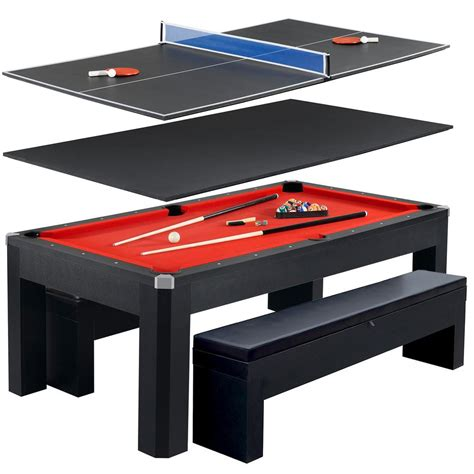 tabletop pool table 5ft hathaway park avenue 7 ft pool table tennis combination