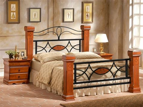 wooden post bed frames omega wooden bed frame four poster bed italian design