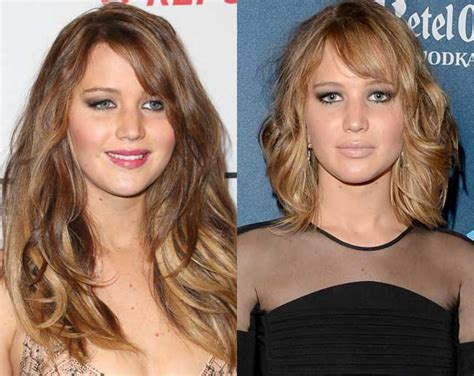 drastic hairstyle changes before and after photos photos drastic hollywood hair changes