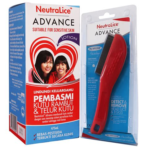 Lotion Anti Kutu Rambut Neutralice Advance Lotion 475ml obat pembasmi kutu dan telur kutu rambut neutralice advance lotion