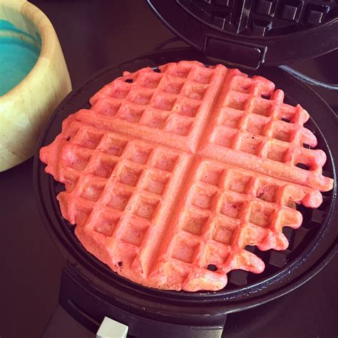 blue colored waffle tasty tuesday white and blue fruity waffles guest