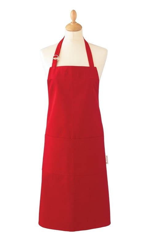 kitchen apron designs cooksmart kitchen cooking apron 100 cotton pvc choice of