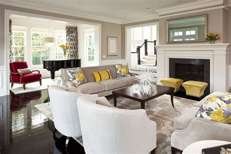 old hollywood living room home design