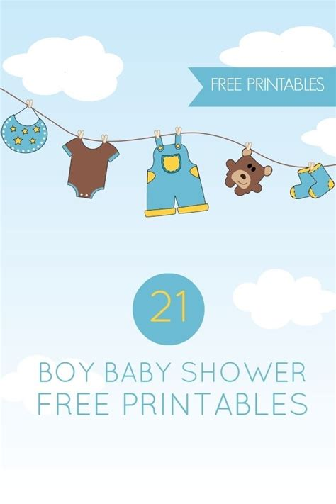 free printable baby cards templates waterbottle 21 free boy baby shower printables spaceships and laser