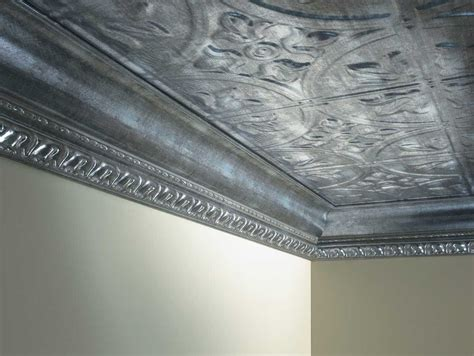 tin ceiling metallic edging for the home pinterest