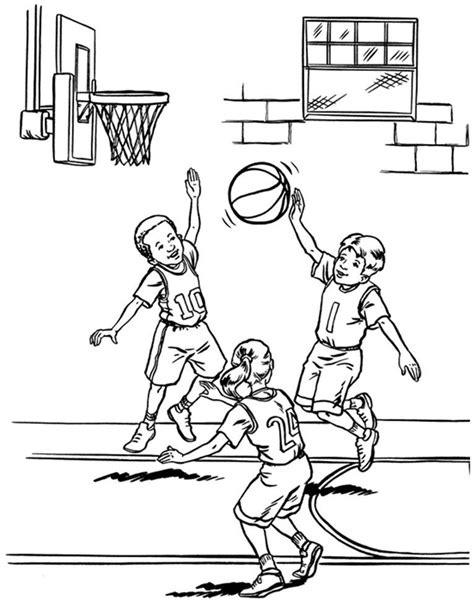 basketball coloring pages pdf free coloring pages basketball player coloring pages