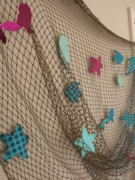 Fishnet Decorating Ideas by Top Ideas For 10 Mermaid Princess