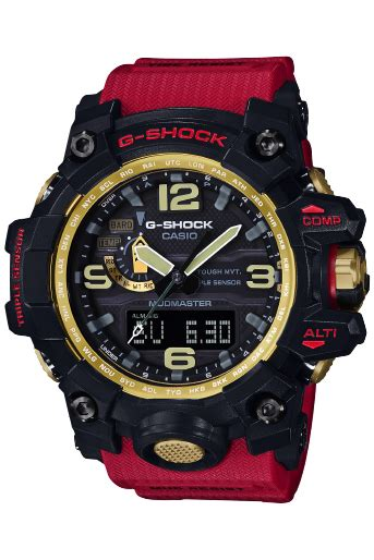 G Shock Gwg Tali Merah gwg 1000gb 4a jam tangan casio