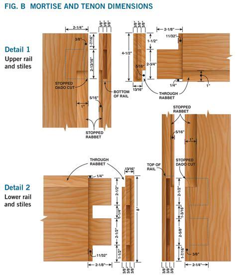 How To Mortise A Door by How To Make A Door Diy Screen Door Project