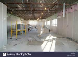 commercial industrial building interior construction