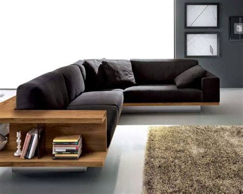 best modern sofa designs best 25 wooden sofa ideas on built in sofa