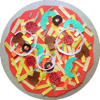 animal letter quot u quot paper crafting craft supplies pizza craft on