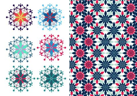 ai pattern pack festive floral vector illustrator pattern pack