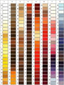 color shade gutermann color shade card