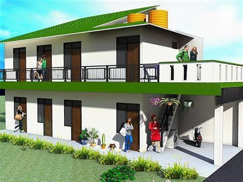 desain rumah luas tanah  mainan anak