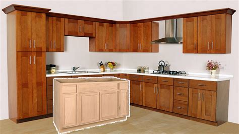 unfinished kitchen furniture 2018 how to finish unfinished kitchen cabinets