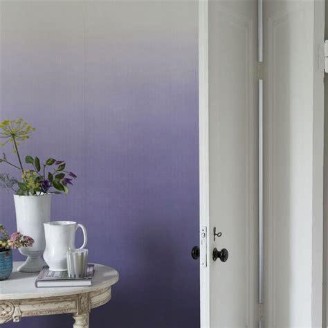 Délicieux Peinture Murale Salon Tendance #3: décoration-murale-salon-papier-peint-dégradé-nuances-lilas.jpg