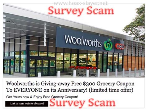 legit printable grocery coupons woolworths quot free 300 grocery coupon quot facebook scam hoax