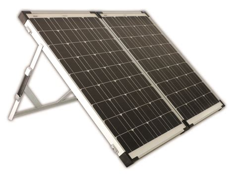 portable solar panel kits for home enerdrive 160w portable folding solar panel kit enspfen160w