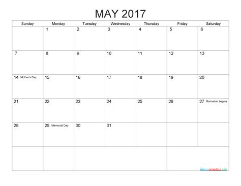 printable calendar pdf 2017 printable 2017 calendar templates may pdf png 2018