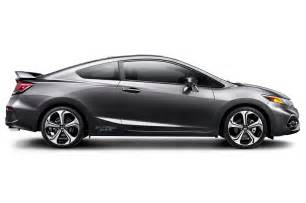 2014 honda civic si coupe side view photo 1
