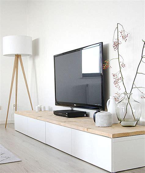 modern media consoles for big screen tvs