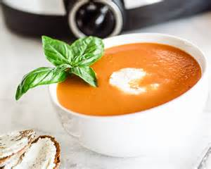 cooker fresh tomato soup
