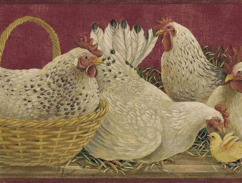 rooster wallpaper country primitive rooster patterns rooster burgundy wallpaper