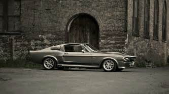 Ford Mustang Eleanor Ford Mustang Shelby Gt500 Eleanor Gray Wall Build Cars
