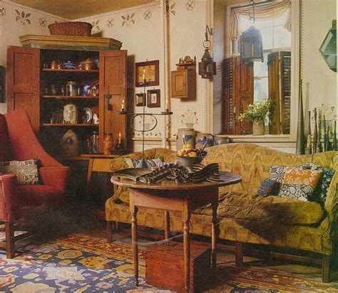 156 best colonial primitive interiors images on