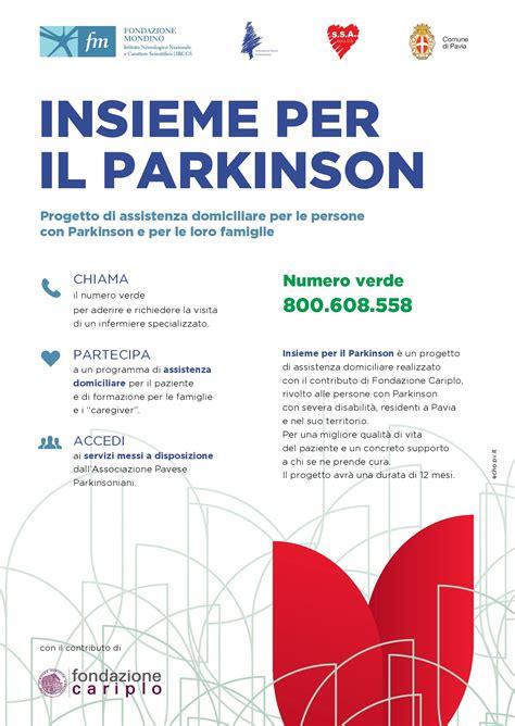 centro neurologico pavia insieme per il parkinson presentazione progetto