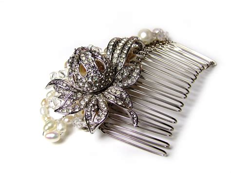 Vintage Wedding Hair Accessories Ireland by Celtic Bridal Hair Accessories Celtic Thistle One Of A