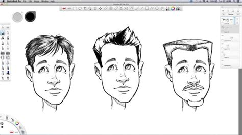 sketchbook pro hair tutorial how to draw hair sketchbook pro tutorial