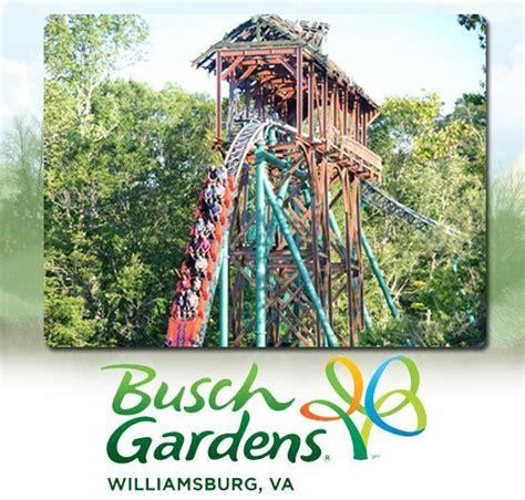Busch Garden Williamsburg Tickets by Busch Gardens Williamsburg Virginia Tickets 45 A Promo