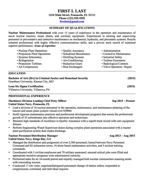 to civilian resume templates 28 to civilian resume templates sle