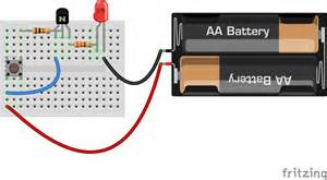 minecraft circuits lesson 7 transistor pushbutton soldering sunday