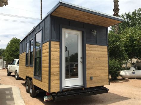 Tiny Houses Arizona modern industrial tiny house