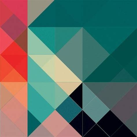 pattern color scheme aqua blue teal magenta orange coral rose pretty colors
