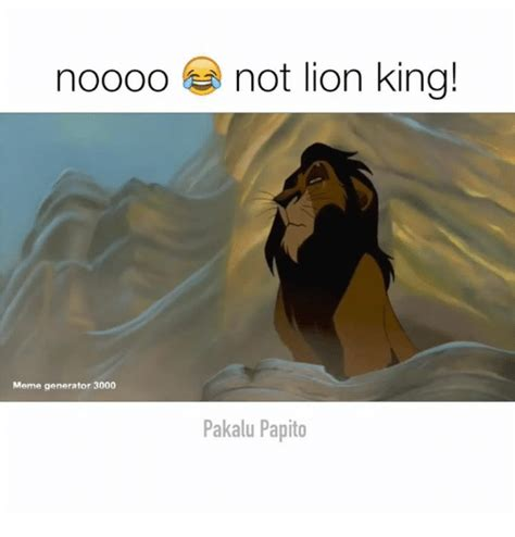 Lion King Meme Maker - 25 best memes about lion king meme lion king memes