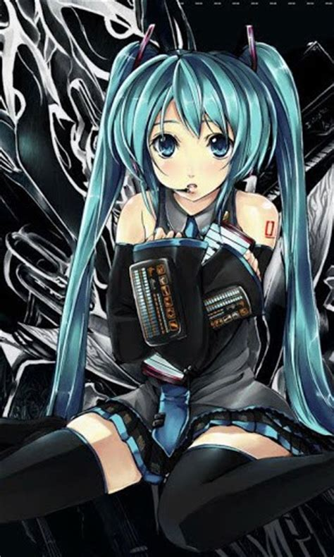 theme line android miku hatsune miku live wallpapers app for android