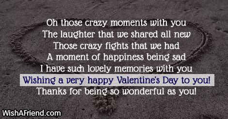 Oh Those Wacky by Oh Those Moments With You Valentines Day Message